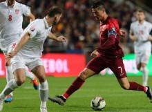 Serbia vs Portugal Euro16