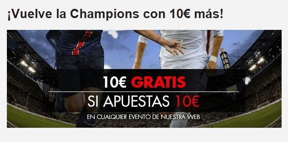oferta champions sportium