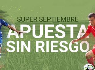 Apuestas gratis en luckia para los partidazos de septiembre - Luckia casa de apuestas ...