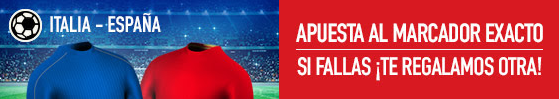 promociones apuesta italia españa sportium