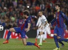 Sergi Roberto estrella del atraco al PSG en champions