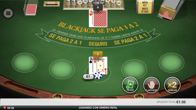 mesa bet365 blackjack app movil