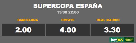 cuotas supercopa espana 2017 ida