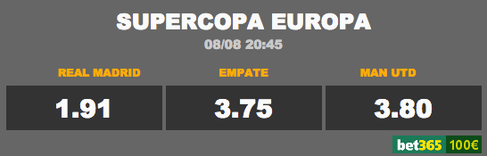 cuotas supercopa europa 2017