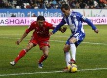 Numancia vs Malaga en copa del rey