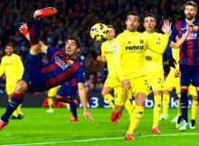Suarez en semitijera contra Villareal