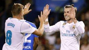 El Madrid espera los goles de Bale.