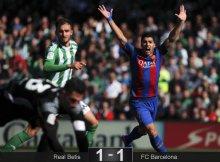 Suárez, baza ofensiva del Barsa.