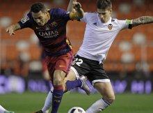 El Valencia deberá luchar cada balón si quiere ganar al Barsa
