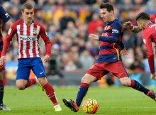 Duelo de goleadores en el Camp Nou.