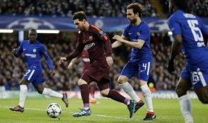 Messi es la gran referencia de los azulgranas.