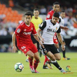 El Sevilla buscará tener el control del balón.