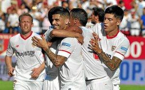 Es Sevilla debe jugar como un bloque compacto.