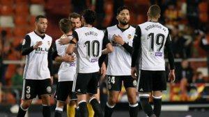 """El Valencia ha vuelto a ser un """"equipo""""."""