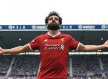 Salah, el gran peligro del Liverpool.