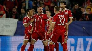 El Bayern a certificar el pase a semis.