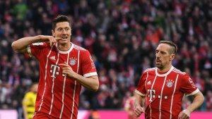 El polaco es el gran goleador del Bayern.