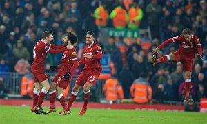 La delantera del Liverpool es temible.