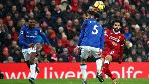 Salah es seria duda para el partido.