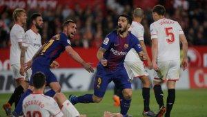 El remate y la lucha de Suárez puede decidir la final.