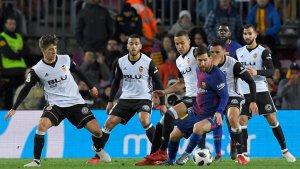El Valencia a pelear como equipo una vez más.