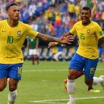 Neymar, el gran peligro de Brasil.