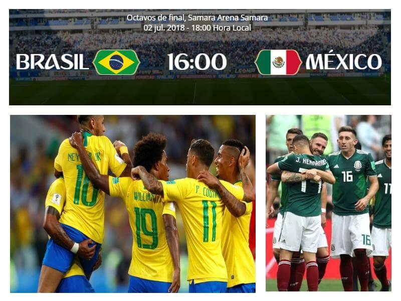 brasil mexico mundial 2018