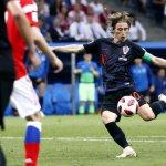 Modric, el timón y el alma de Croacia.