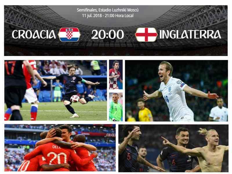 croacia inglaterra mundial 2018
