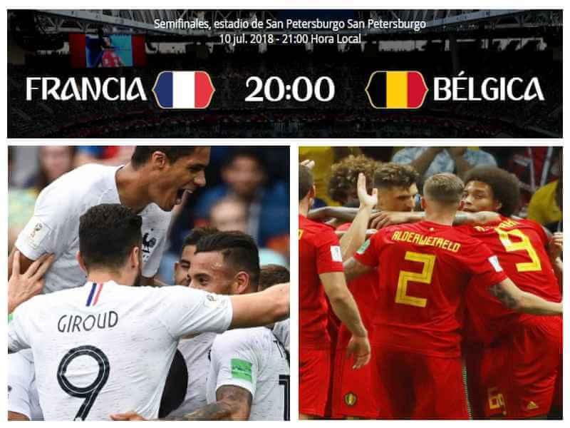 francia belgica mundial 2018