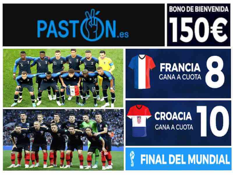 supercuota paston francia croacia final mundial