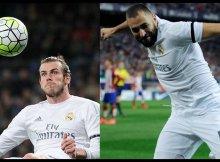 Bale y Benzema las armas ofensivas del Madrid.