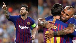 El Barsa tiene una clara dependencia de Messi.
