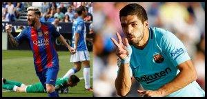 Messi y Suárez, en racha goleadora.