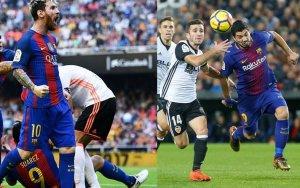 Messi y Suárez serán el gran peligro para el Valencia.