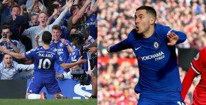Eden Hazard, la estrella del Chelsea, en plena forma.