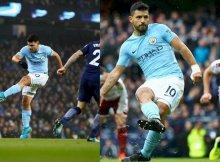 La calidad de la delantera del City es tremenda.