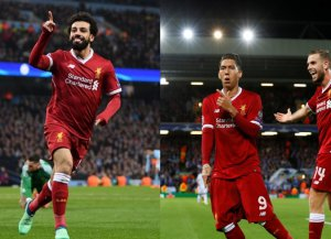 El Liverpool tiene una delantera temible.