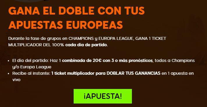 ticket aumento apuestas 888sport