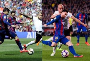 El Valencia debe frenar a un Messi en estado de gracia.