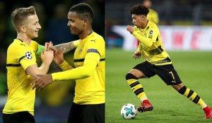 Reus y Sancho, presente y futuro del Dortmund.