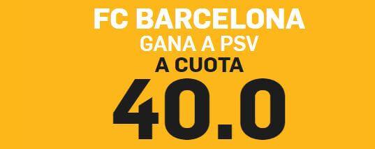 supercuota betfair psv barcelona