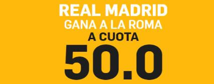 supercuota betfair roma real madrid