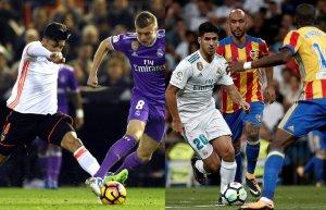El Valencia debe frenar la creación de juego del Madrid