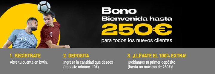 bono bwin especial 250 euros