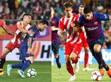 El Girona debe frenar a las estrellas culés