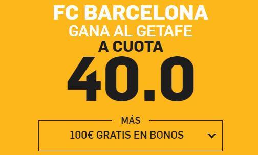 supercuota betfair getafe barcelona