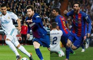 Messi, especialista en golear en el Bernabéu
