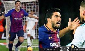 Suárez quiere volver a golear al Madrid