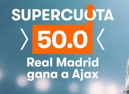 betsson supercuota ajax real madrid